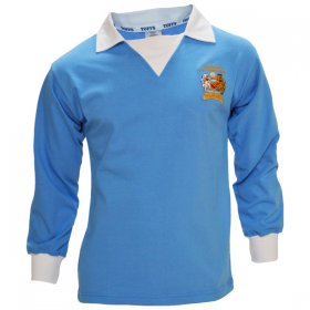Manchester City 1976 FA Cup Retro Shirt