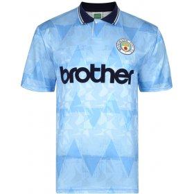Manchester City 1989-90 Retro Shirt