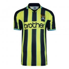 Manchester City 1999 Wembley Retro Shirt