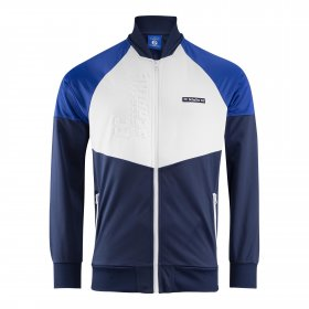 Schalke 04 Retro Jacket Blue/White