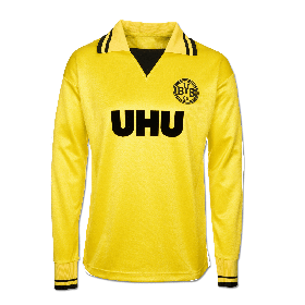 Borussia Dortmund 1980-83 Retro Shirt - Long Sleeve