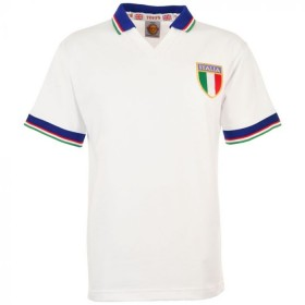 Italy World Cup Away Shirt 1982 Cotton