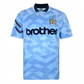 Manchester City 1992 football shirt