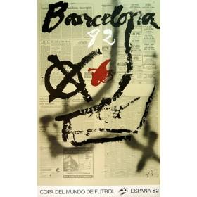 Cartel Oficial de Barcelona - Chut de Tapiés
