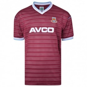 West Ham 1986 football shirt