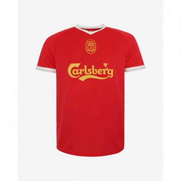 Liverpool FC 2001-03 football shirt