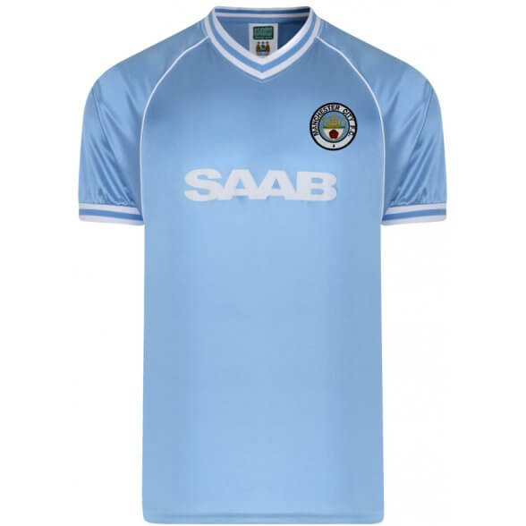 Manchester City 1982 Retro Shirt