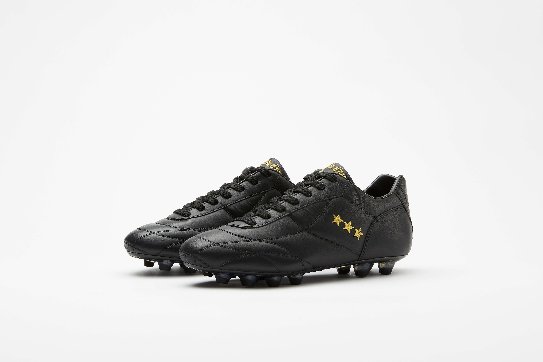 Botas de Fútbol Pantofola d'Oro Combi Epoca - Negro-Oro Combi