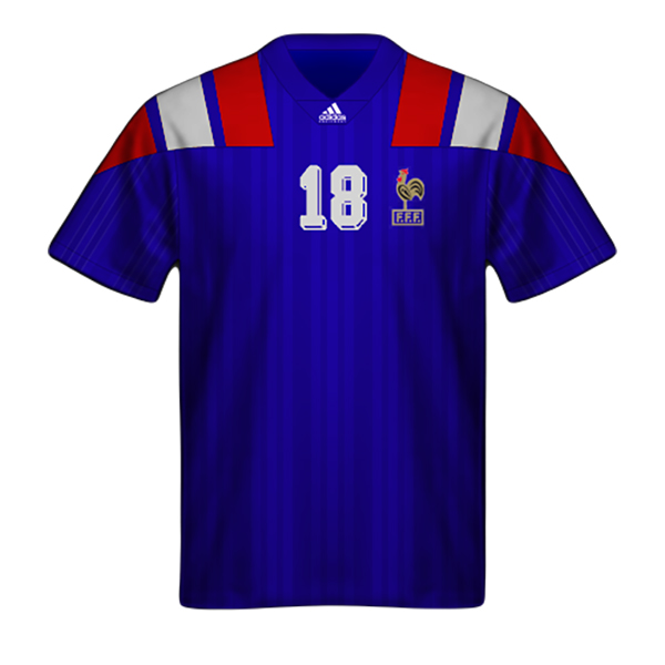 Maglia Francia 1992