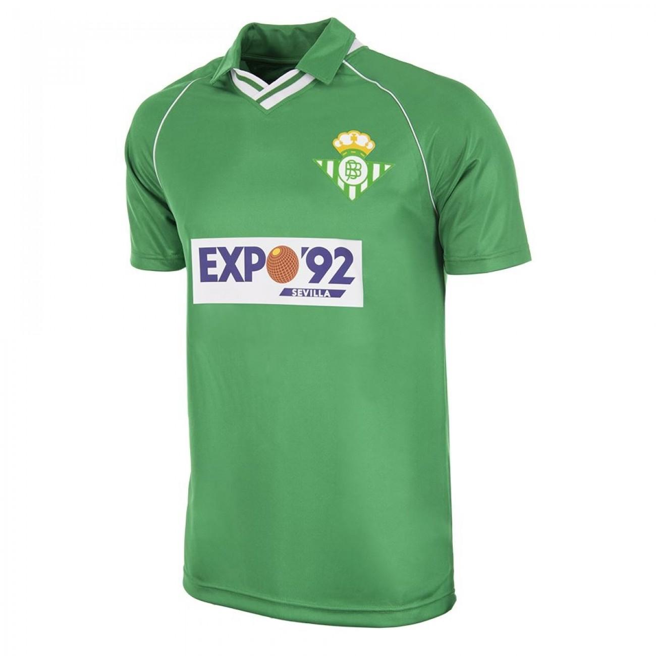 Camiseta Real Betis 1987-1990 con Expo