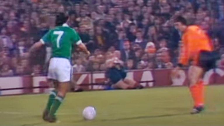 George Best Johan Cruyff Holland Northern ireland 1976