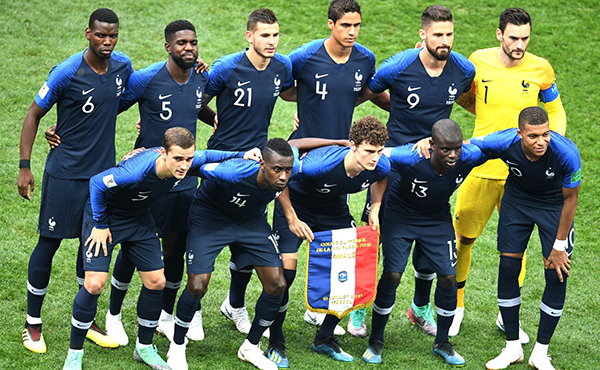 History of the France shirt