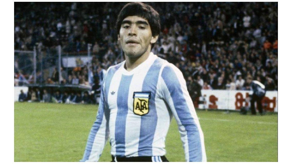 Maradona Argentina 1978